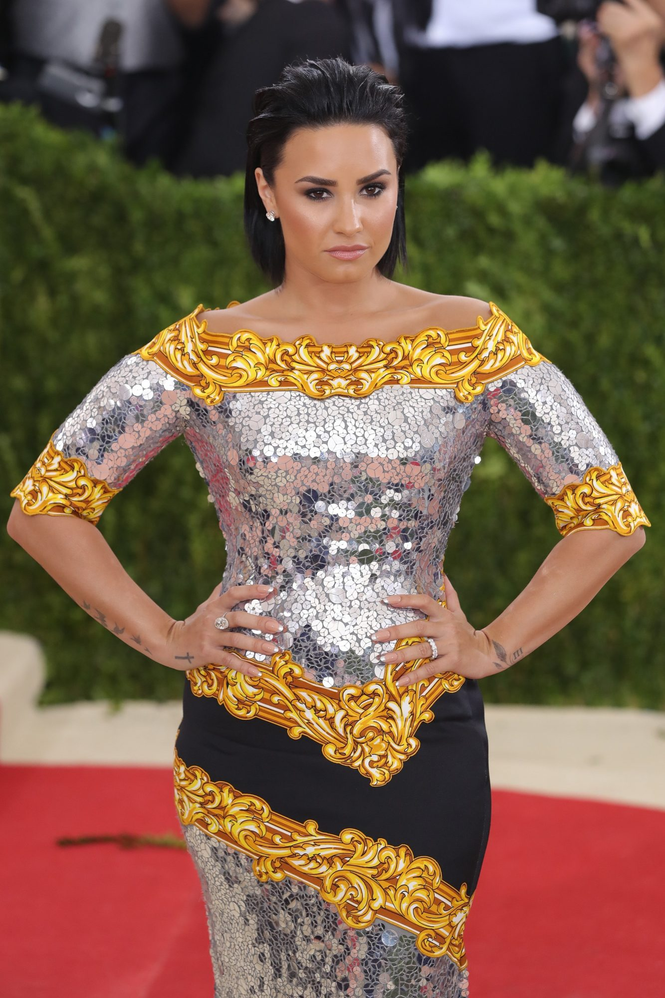 Demi Lovato attends the  Manus x Machina: Fashion In An Age Of Technology  Costume Institute Gala.