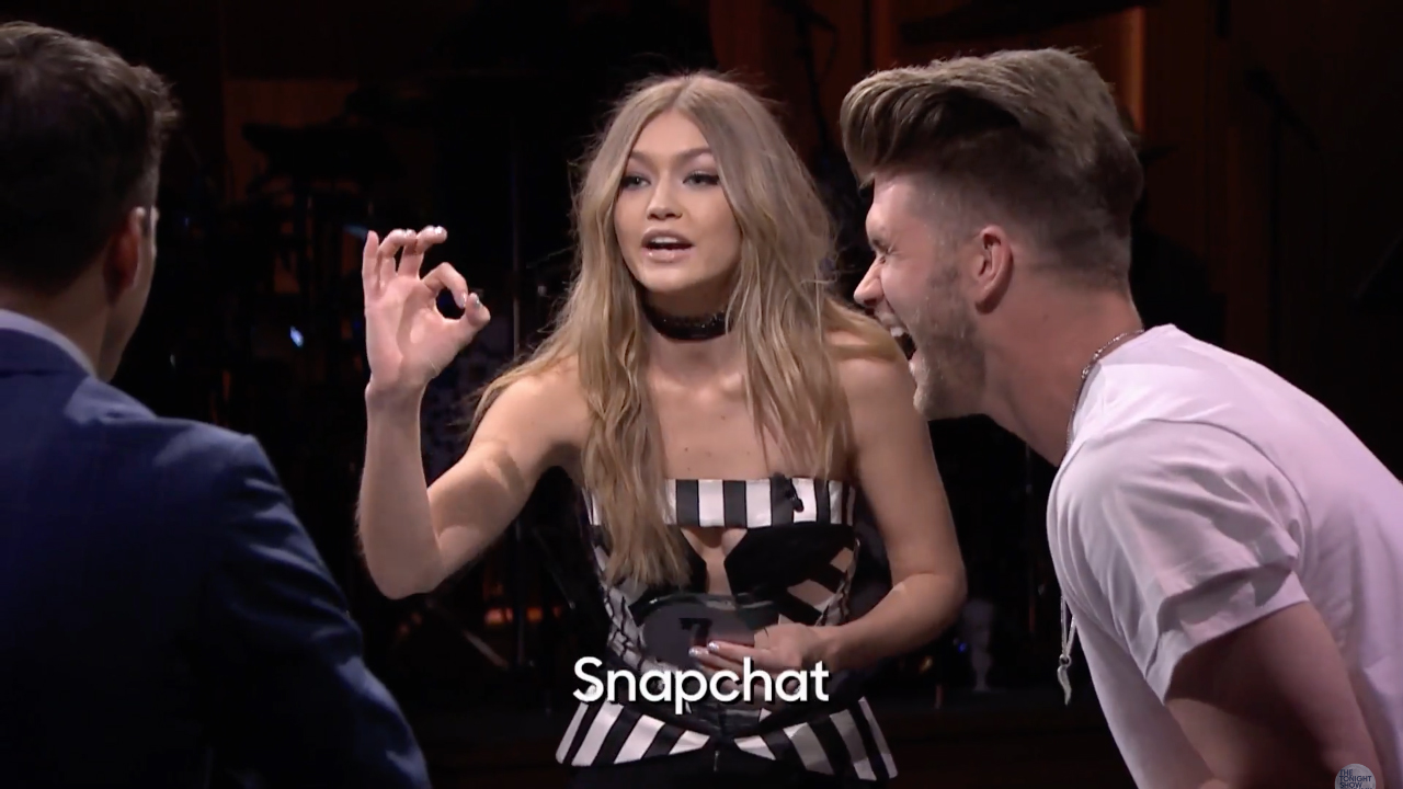 Watch Gigi Hadid Get Super Competitive During a Game of Catchphrase