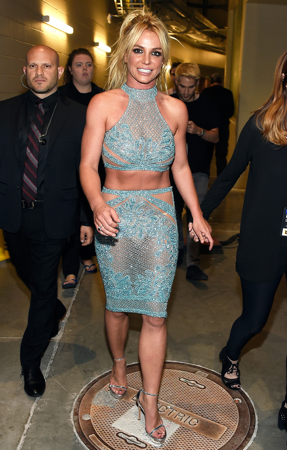 All of Britney Spears's Daring <em>Billboard</em> Looks Have Us Racing to the Gym