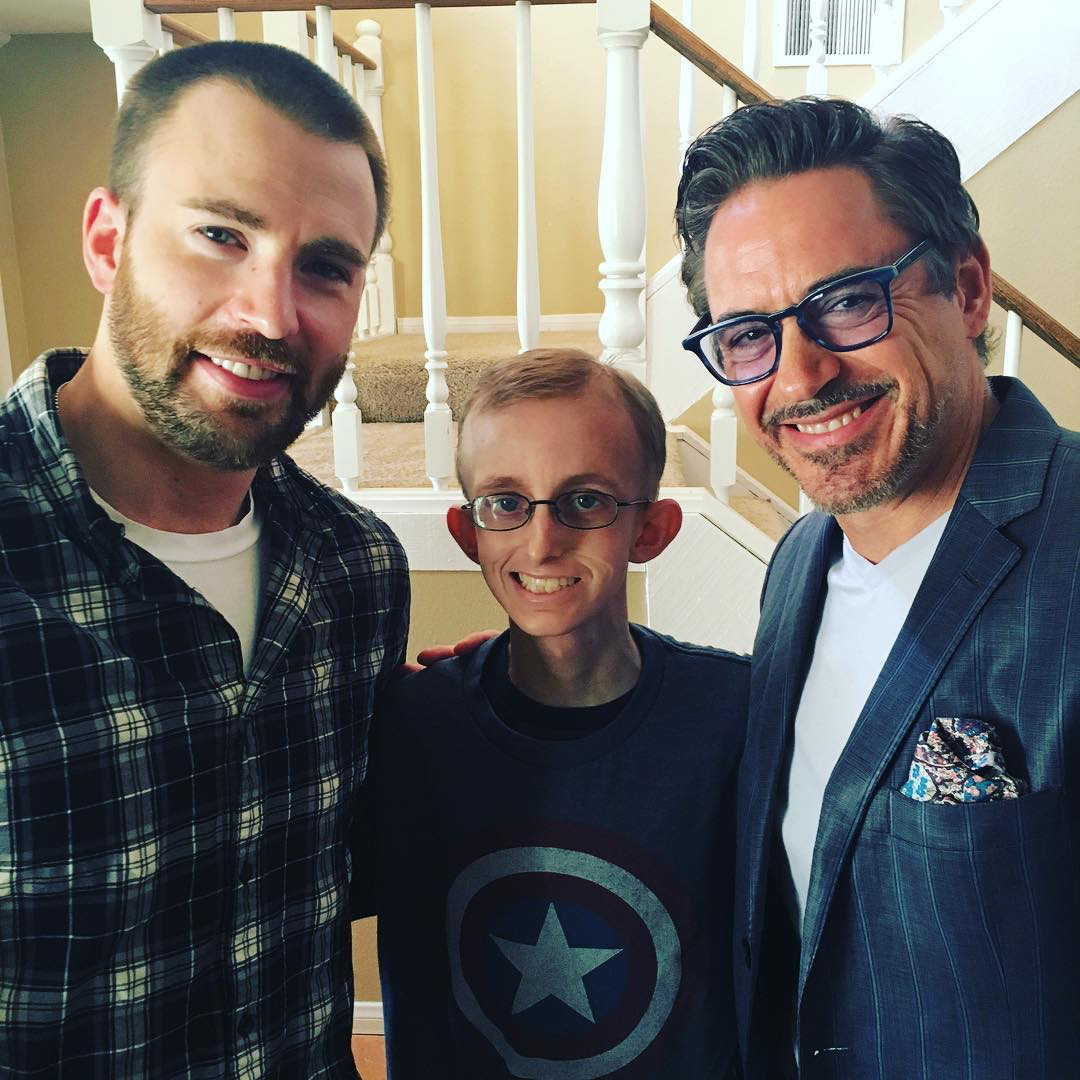 <em>Avengers</em> Co-Stars Make a Young Fan with Cancer's Dream Come True