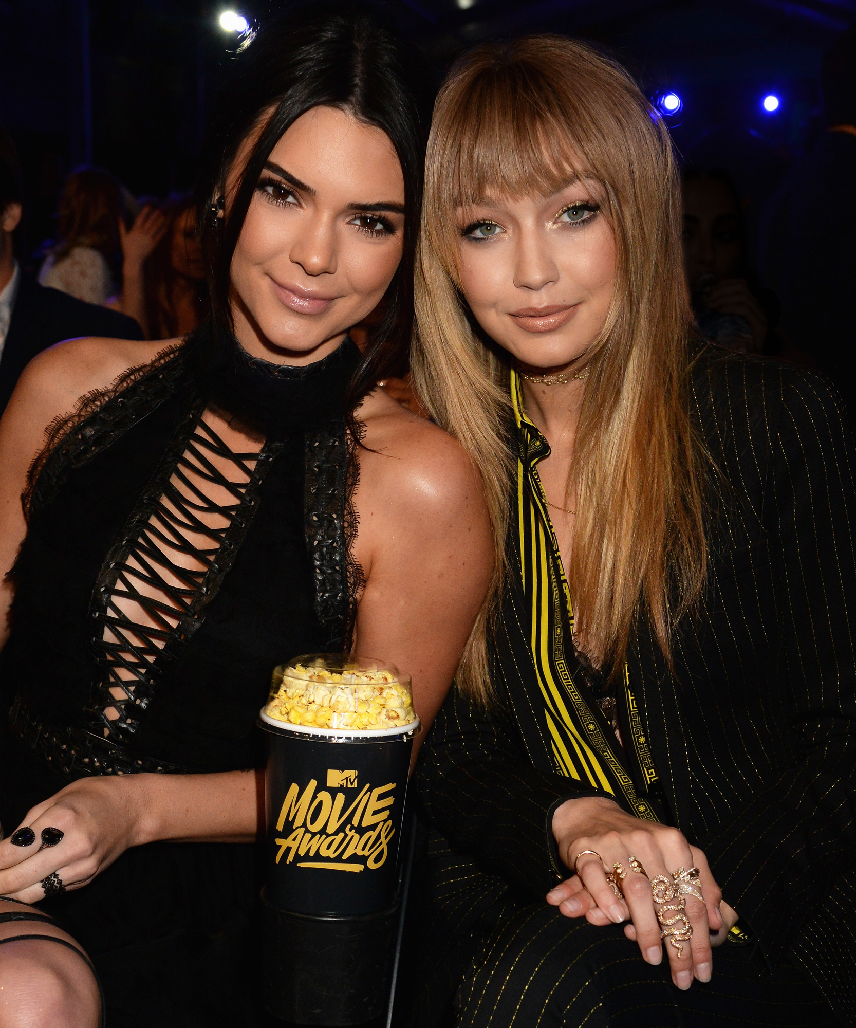 This Is Where Kendall Jenner and Gigi Hadid Chow Down on Burgers