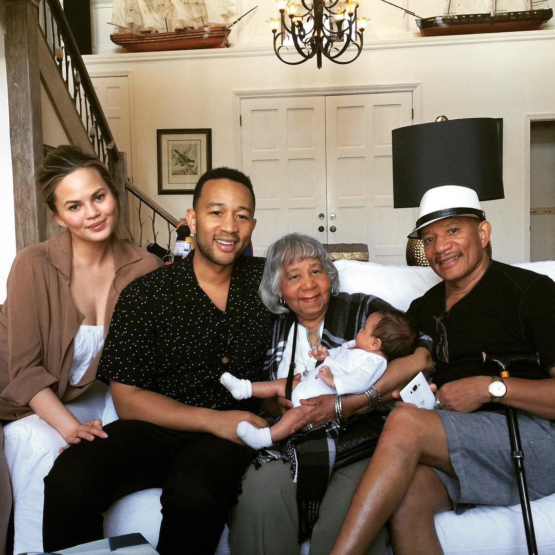 John Legend Chrissy Teigen Date Night Instagram - Lead 2016