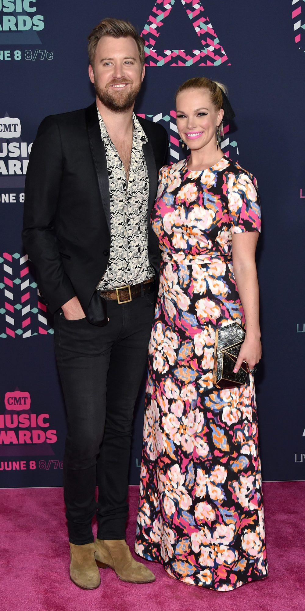 <p>Charles Kelley and Cassie McConnell</p>