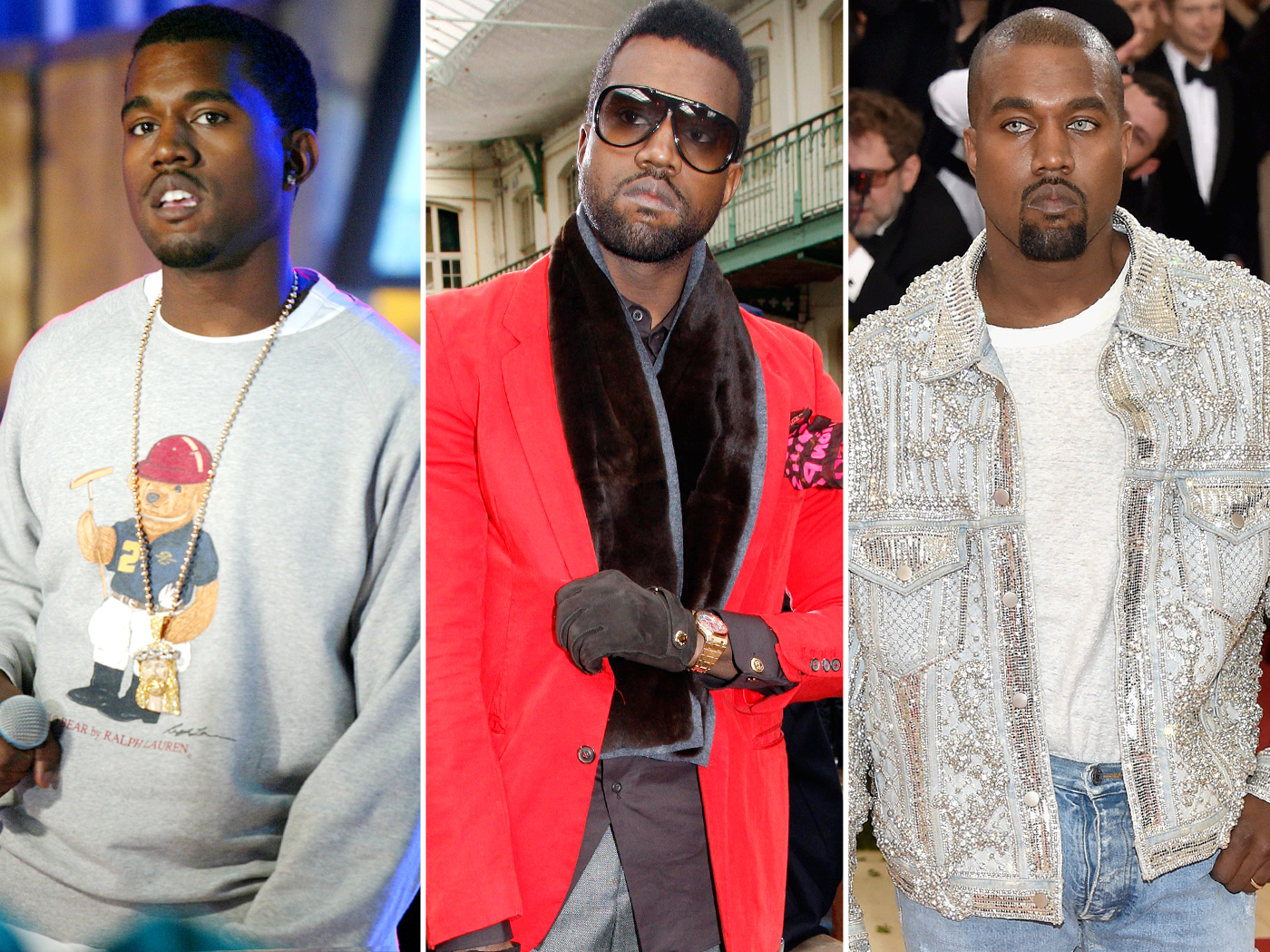 See Kanye West's Incredible Style Evolution
