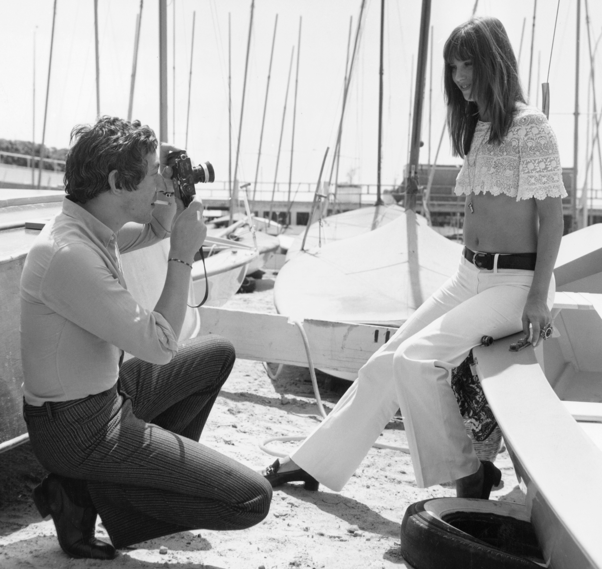 Channel Jane Birkin's Seaside Glamour this Summer