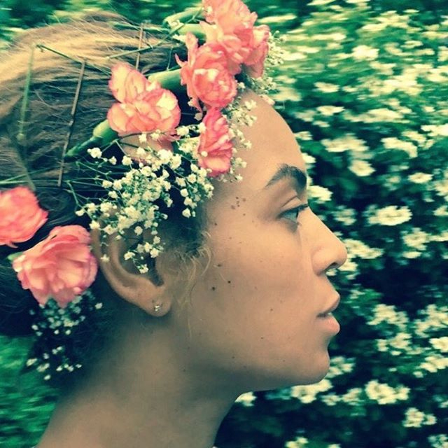 Beyonce Flower Crown - Lead 2016