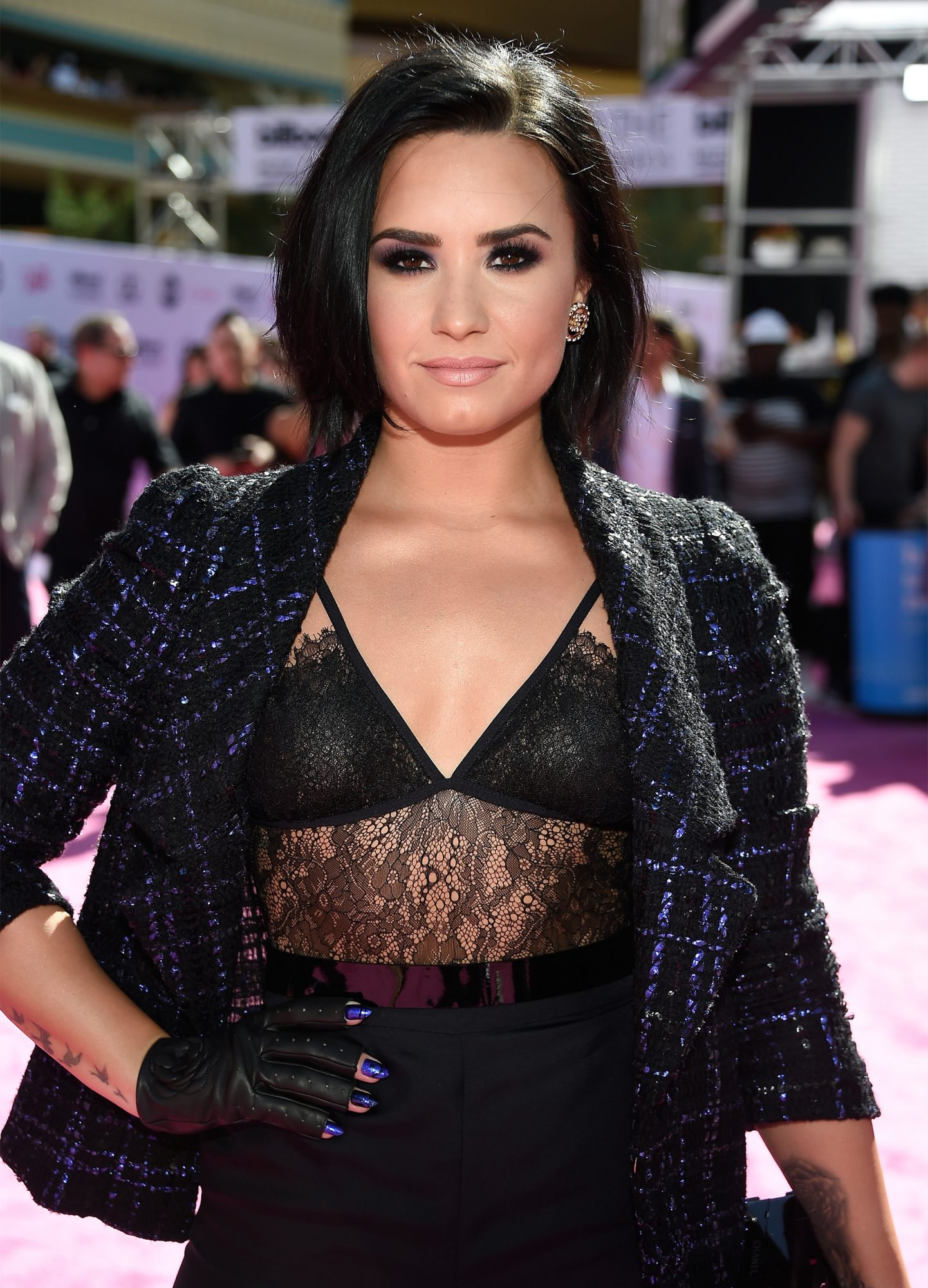 Demi Lovato Is Giving Us All of the Mermaid Hair Goals