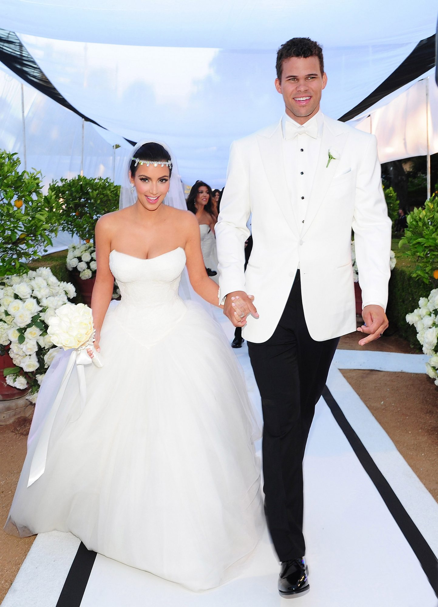 Kim Kardashian and Kris Humphries (2011)