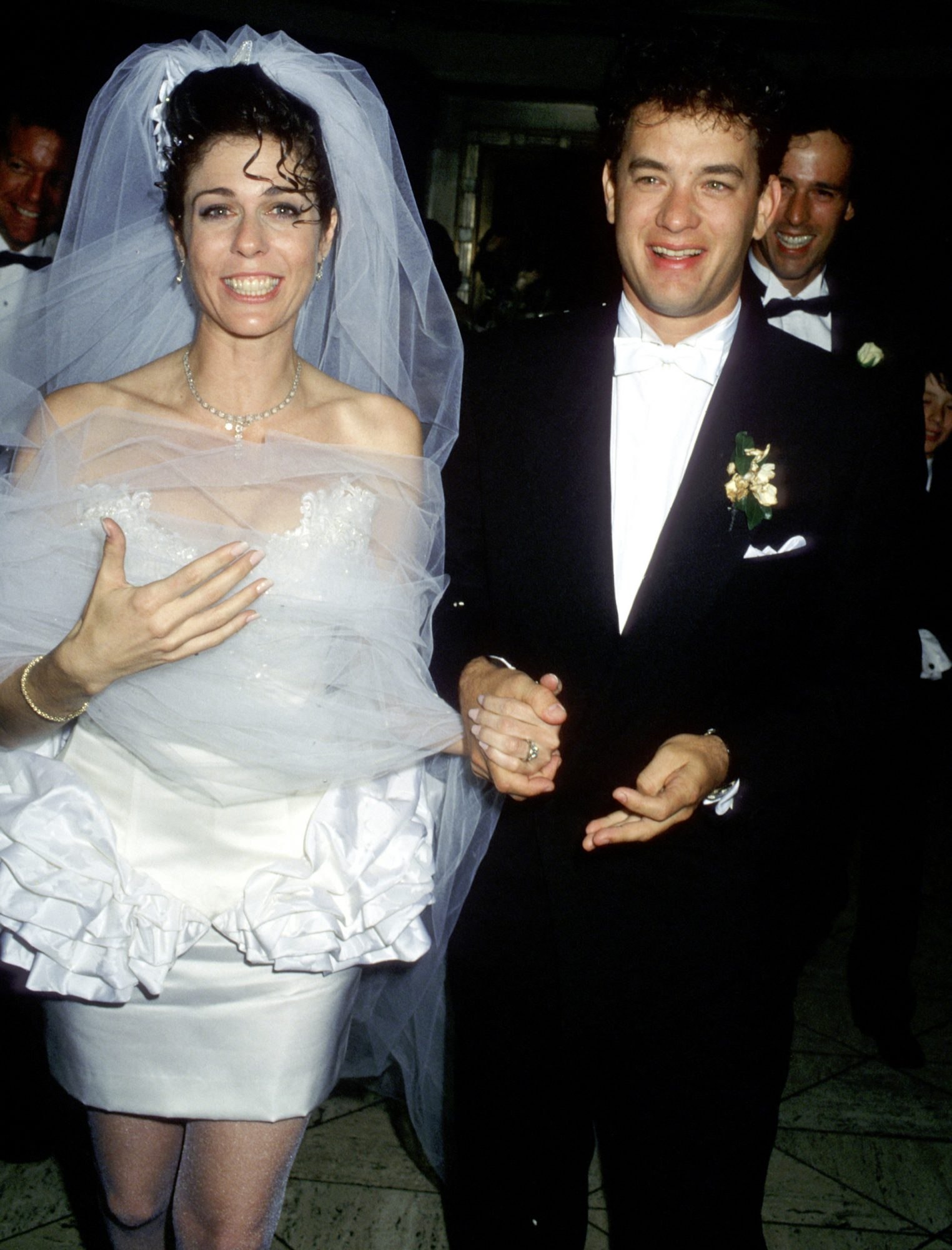 <p>Tom Hanks and Rita Wilson</p>