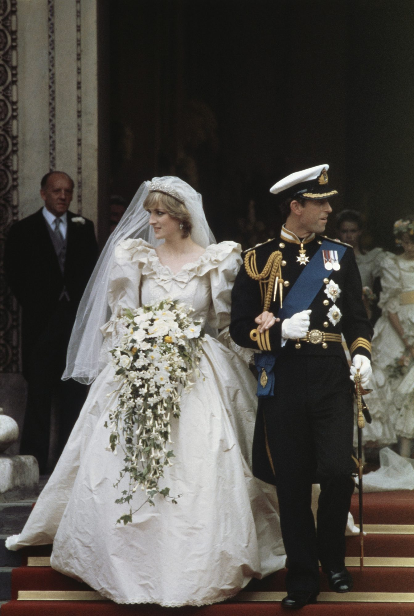 <p>Princess Diana and Prince Charles</p>
