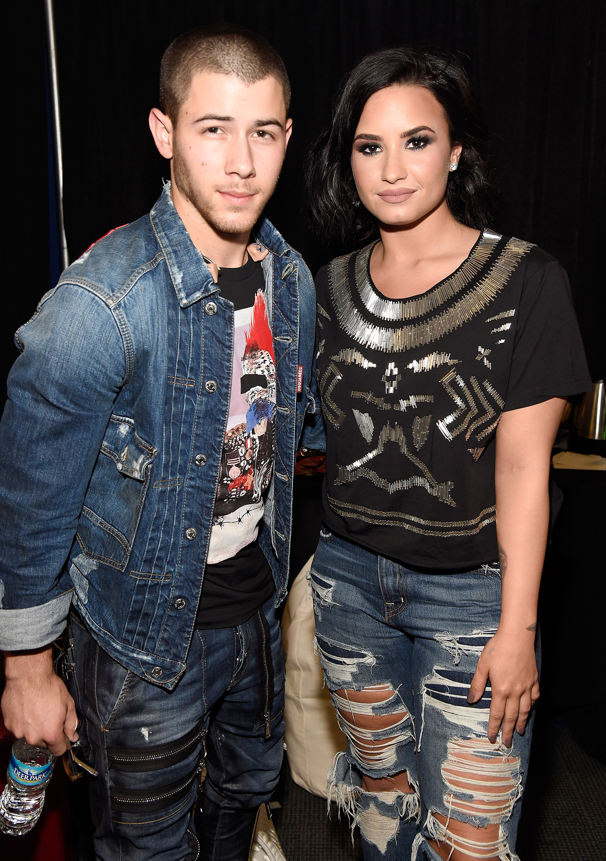 Nick Jonas and Demi Lovato - Lead