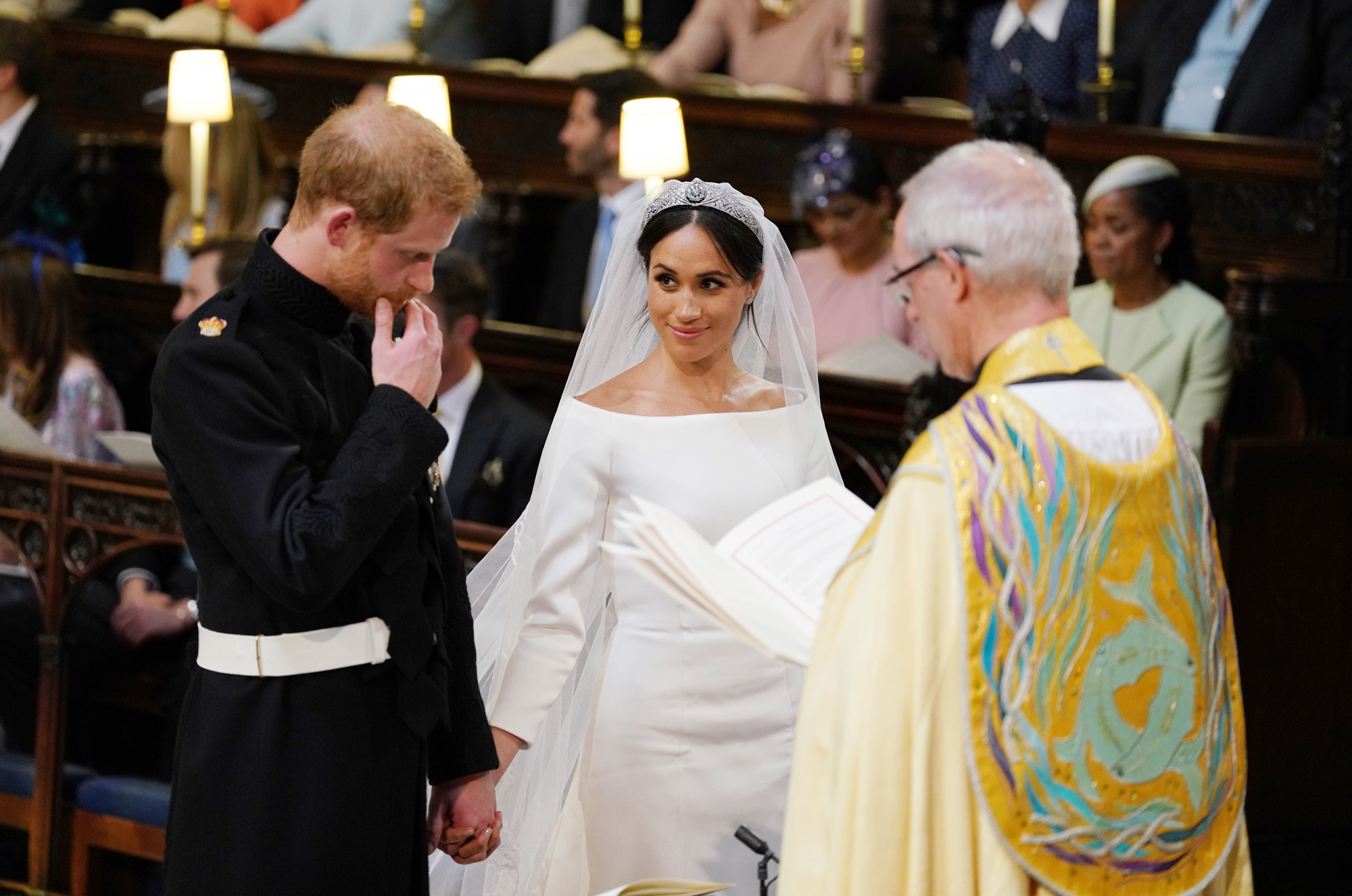 The 16 Most Gorgeous Royal Wedding Gowns of All Time—Including Meghan Markle's
