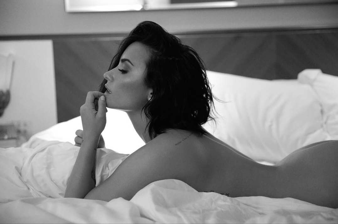 "Demi Lovato Releases the Confident Song ""Body Say"" with a Series of Nude Boudoir Photos"