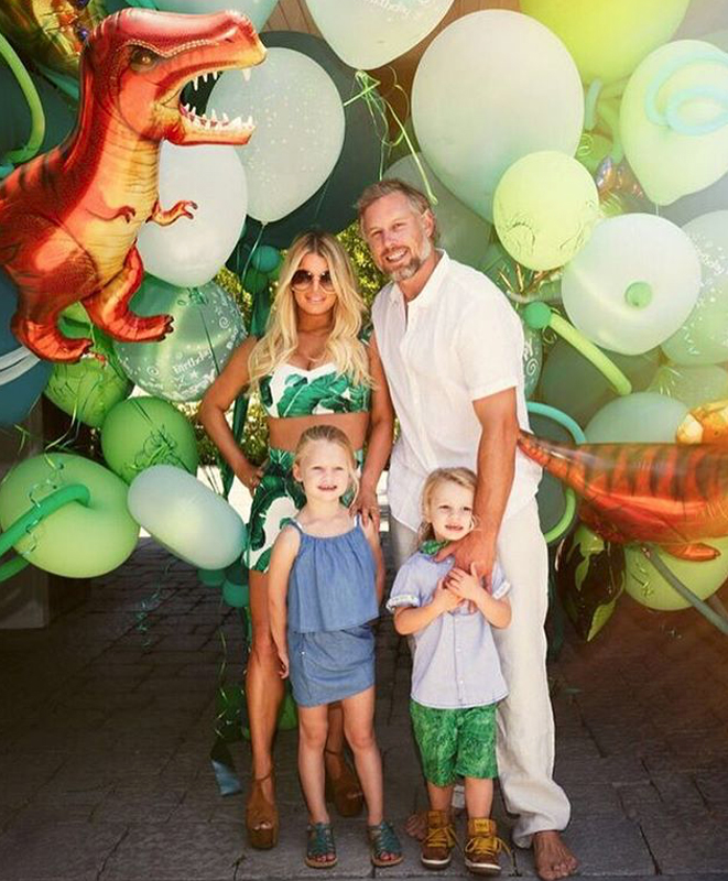 Jessica Simpson's Kids Look Just like Mom in This Birthday Party Pic