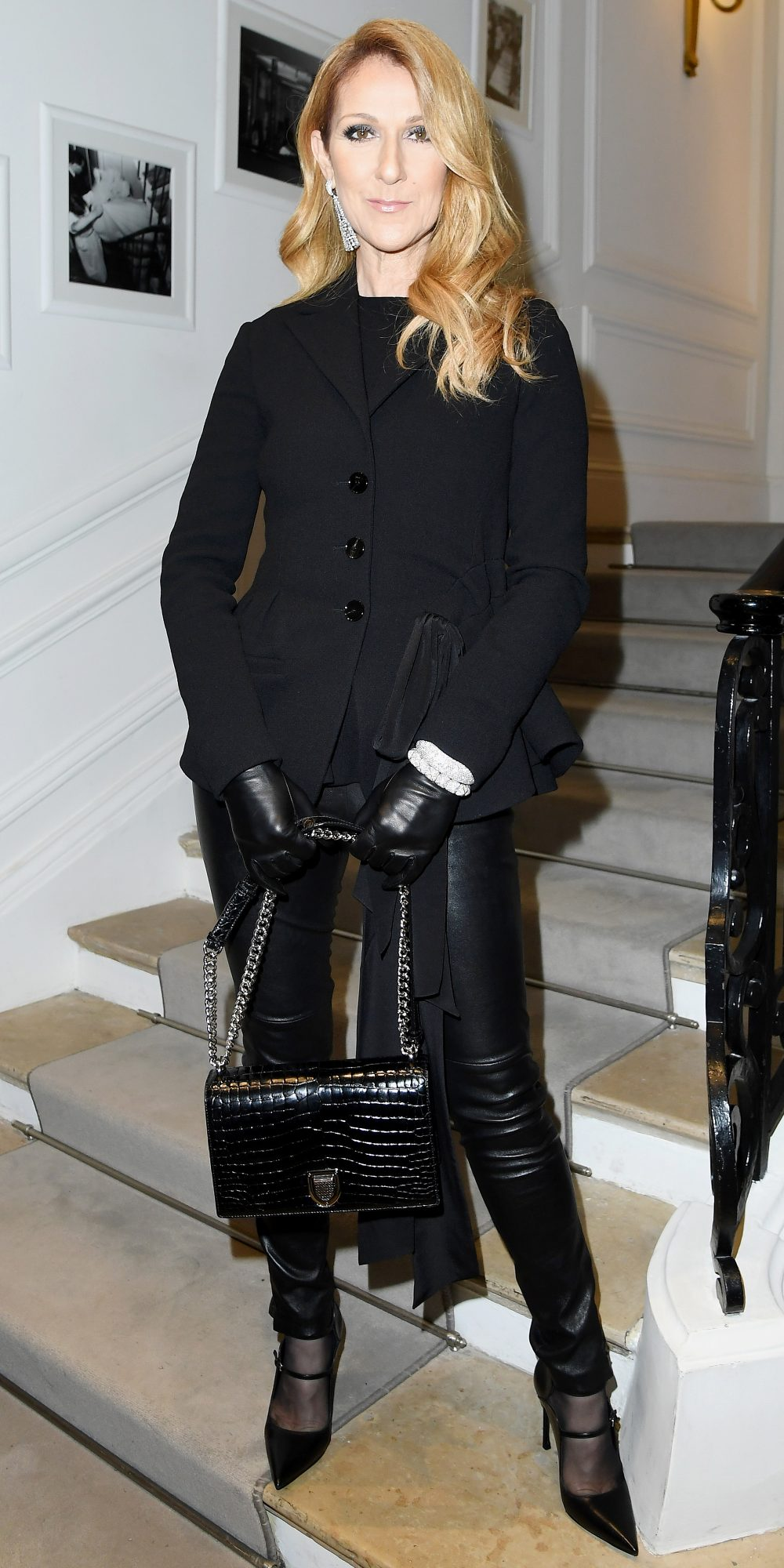 IN BADASS LEATHER PANTS