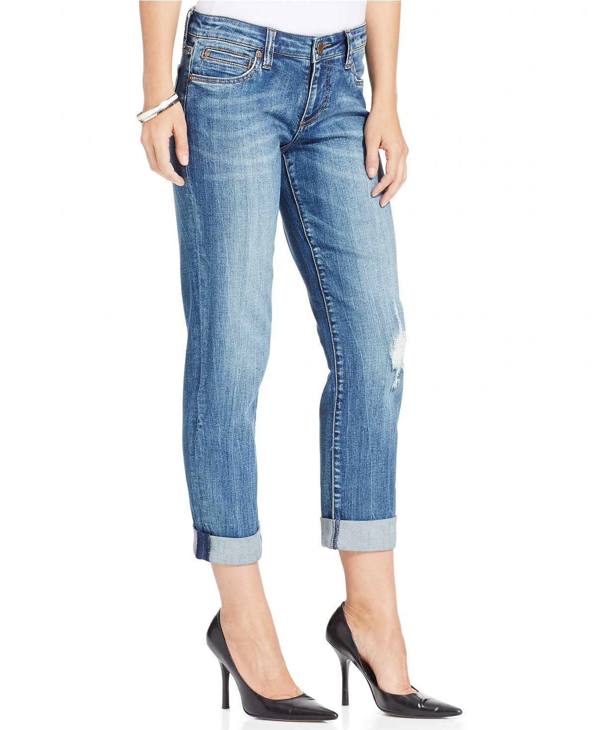 c05b1254f99a7 The Best Jeans for Women with Large Thighs