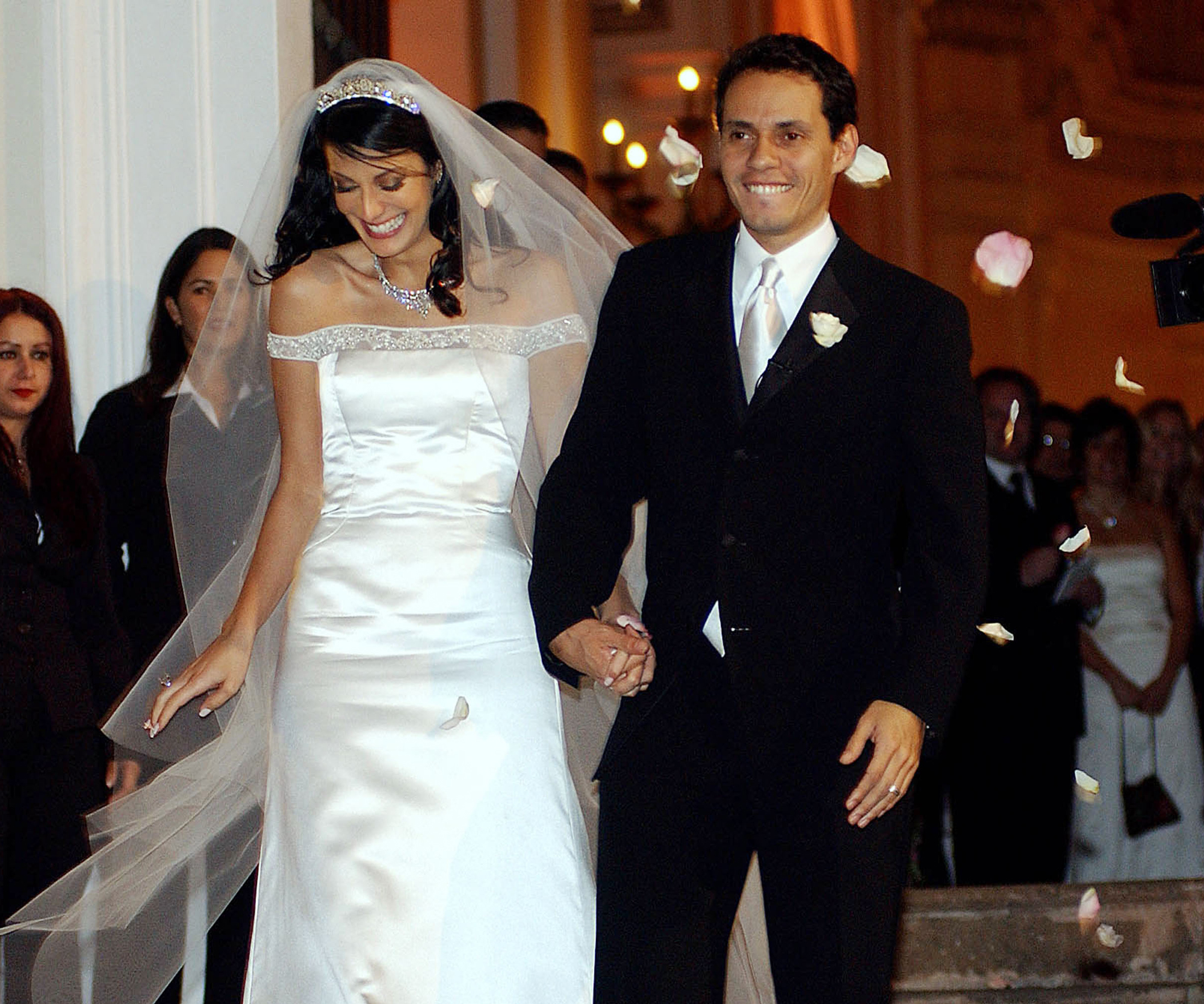 <p>Marc Anthony and Dayanara Torres</p>