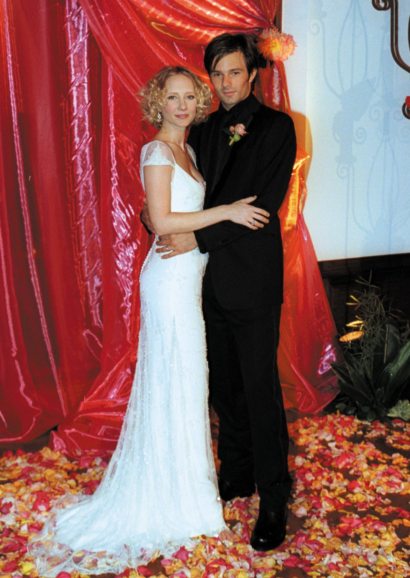 <p>Anne Heche and Coley Laffoon</p>