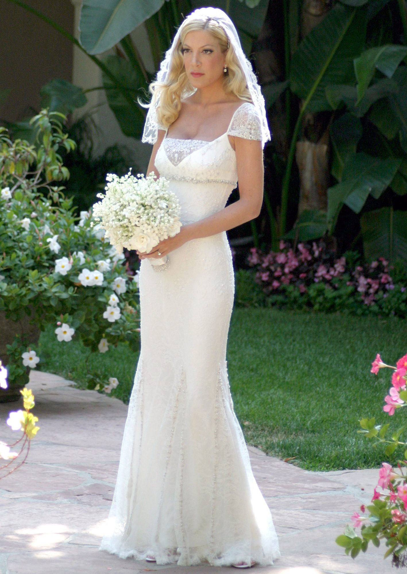 <p>Tori Spelling and Charlie Shanian</p>