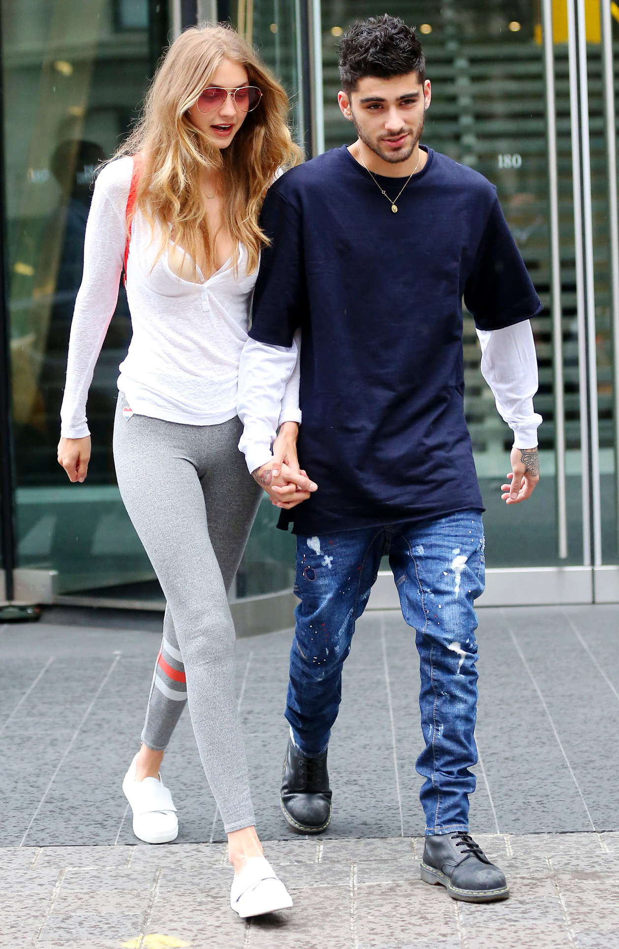 Gigi Hadid and Zayn Malik - Lead