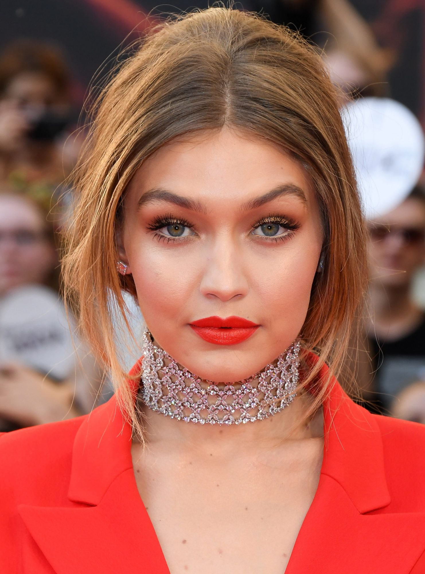 Gigi Hadid Will Make You Want to Match Your Lipstick to Your Nail Polish