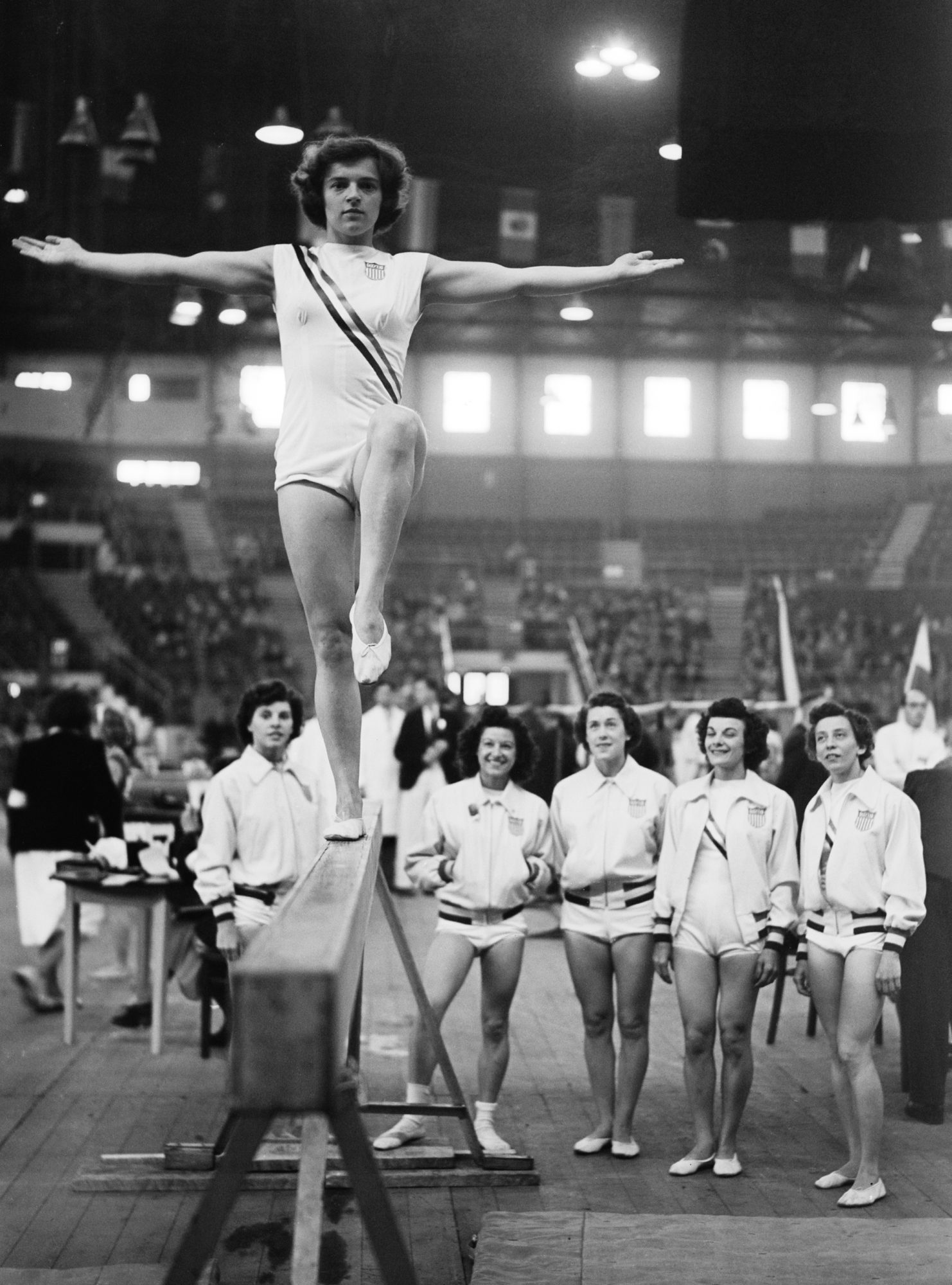 <p>1948 London Olympics, Marian Barone</p>