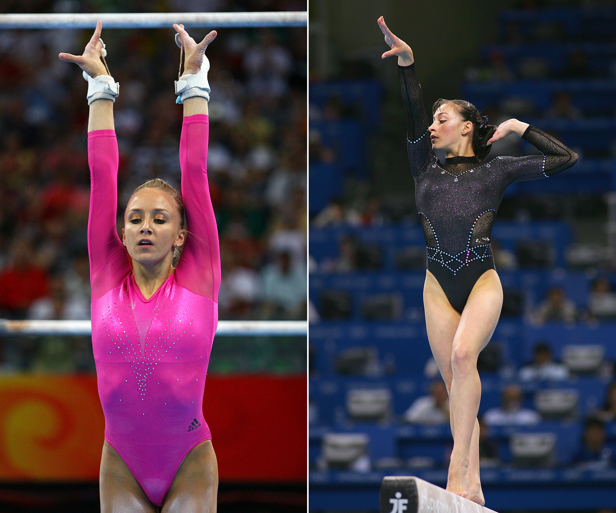 See How Olympic Gymnastic Leotards Have Evolved Instyle Com