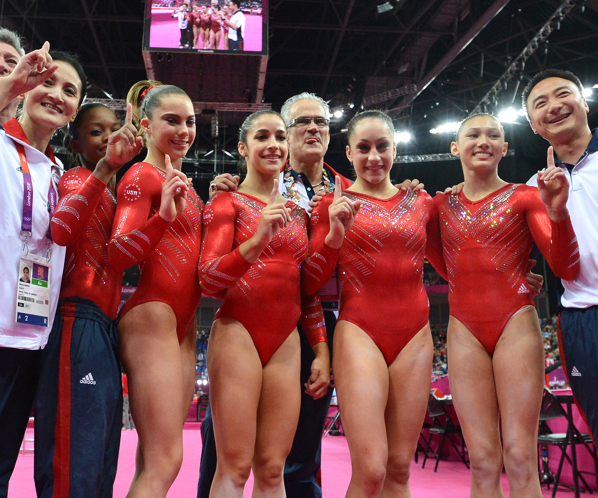 <p>2012 London Olympics, The Fierce Five, USA</p>