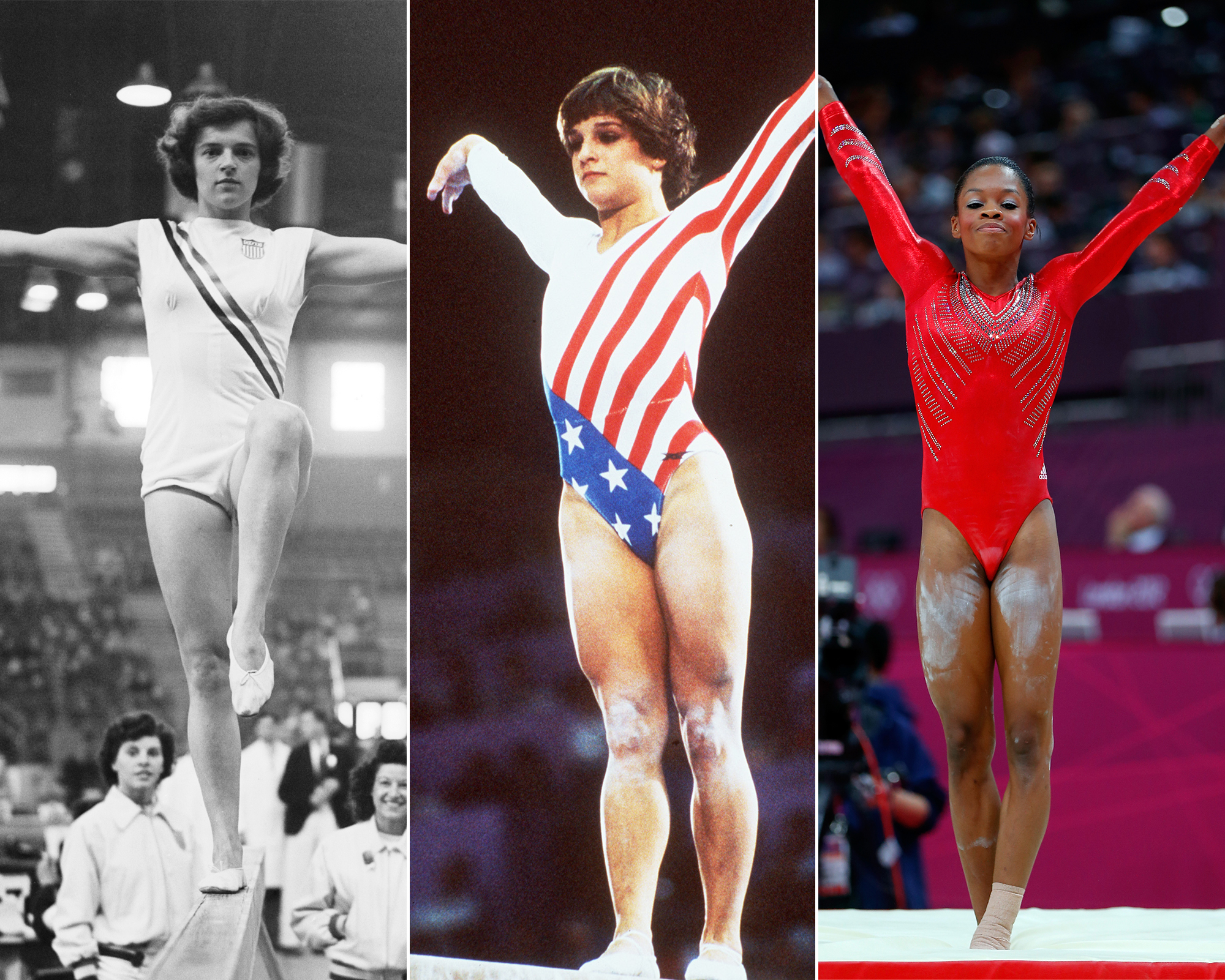 #TBT: See How Olympic Gymnastic Leotards Have Changed Through the Years