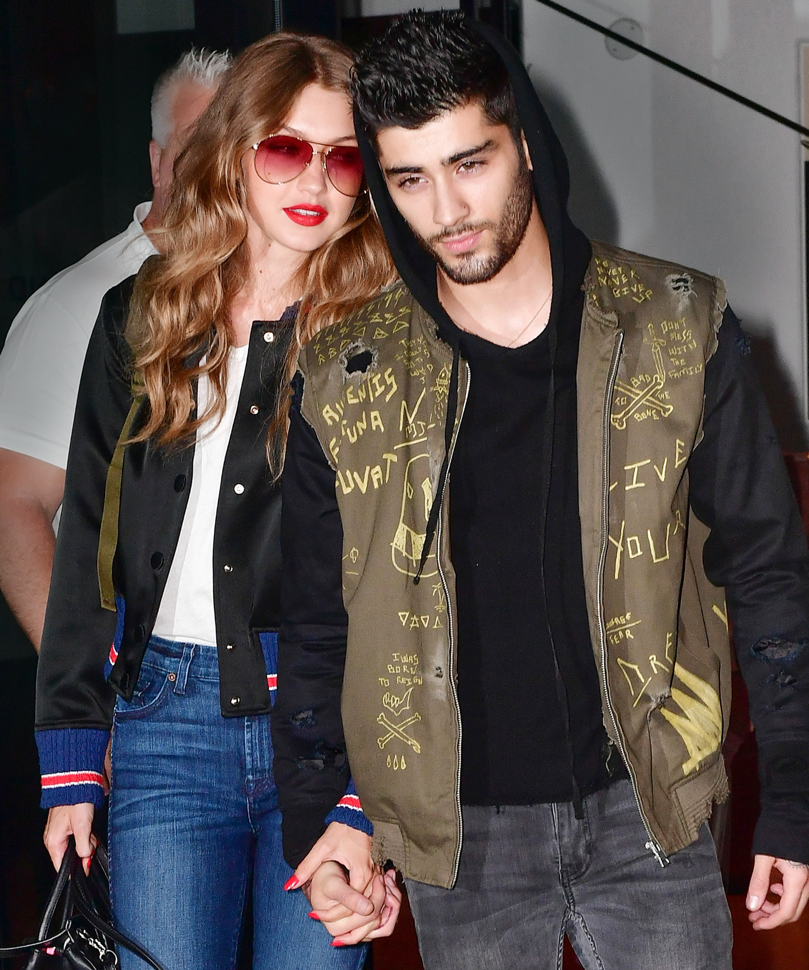 Gigi and Zayn Lead