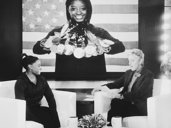<p>She has won the most medals in U.S.A. gymnastic history.</p>