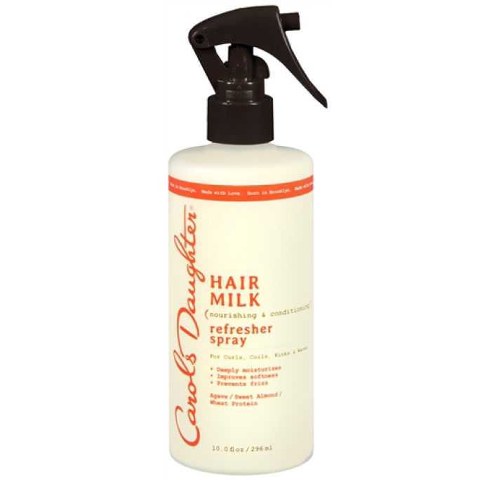 <p>Best For Curls And Waves: Carol's Daughter Hair Milk Refresher Spray</p>