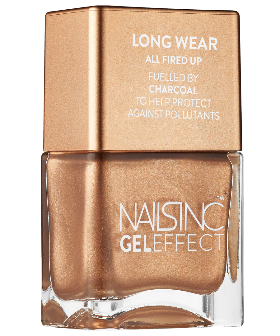 <p>Nails Inc. Crown Place Nail Polish with Charcoal</p>