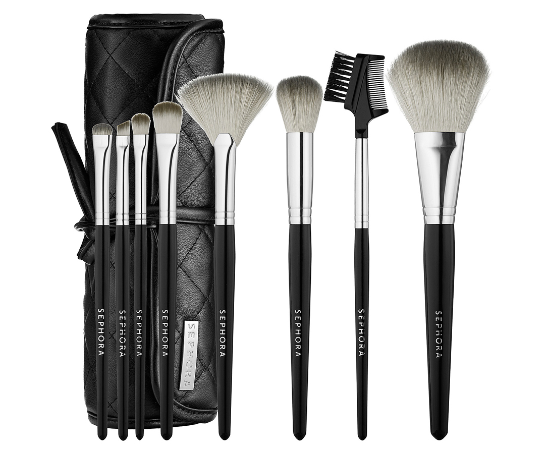 <p>SEPHORA COLLECTION Tools Of The Trade Brush Set</p>