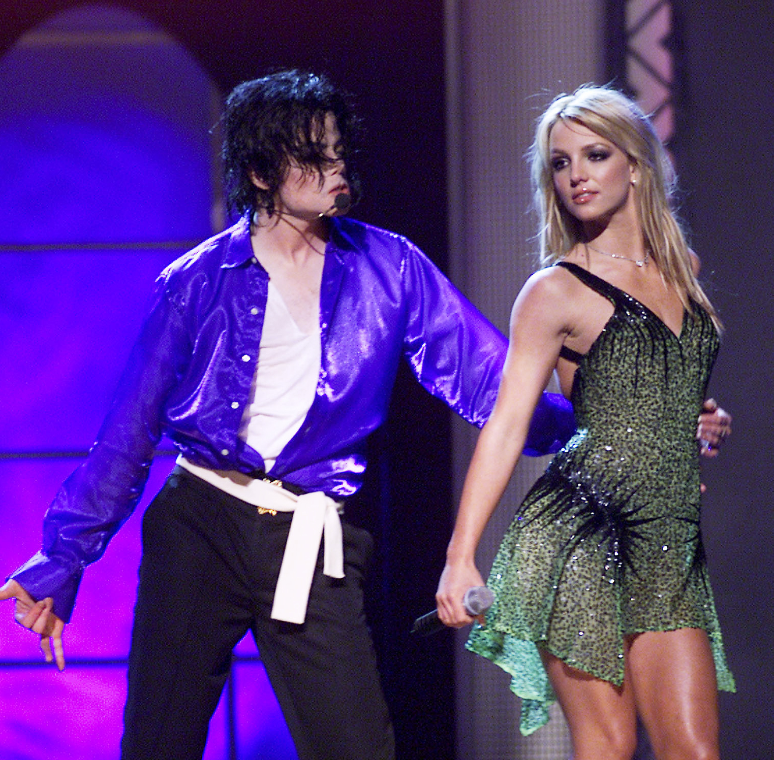 <p>Michael Jackson '30th Anniversary Celebration' Concert, 2001</p>