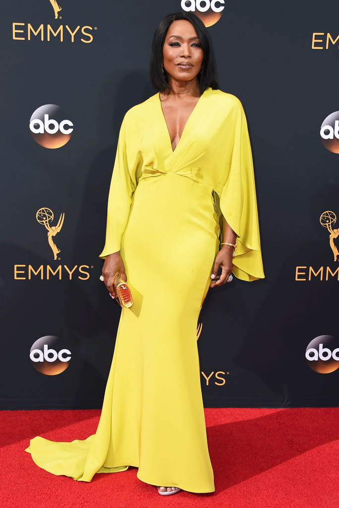 Angela Bassett in Christian Siriano