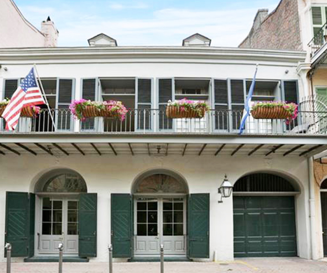 <p>NEW ORLEANS HOME</p>