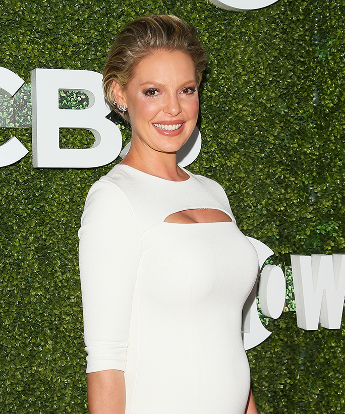 "Katherine Heigl's Daughter Adalaide Is ""Getting Ready for Her Baby Brother"" in This Sweet Snap"