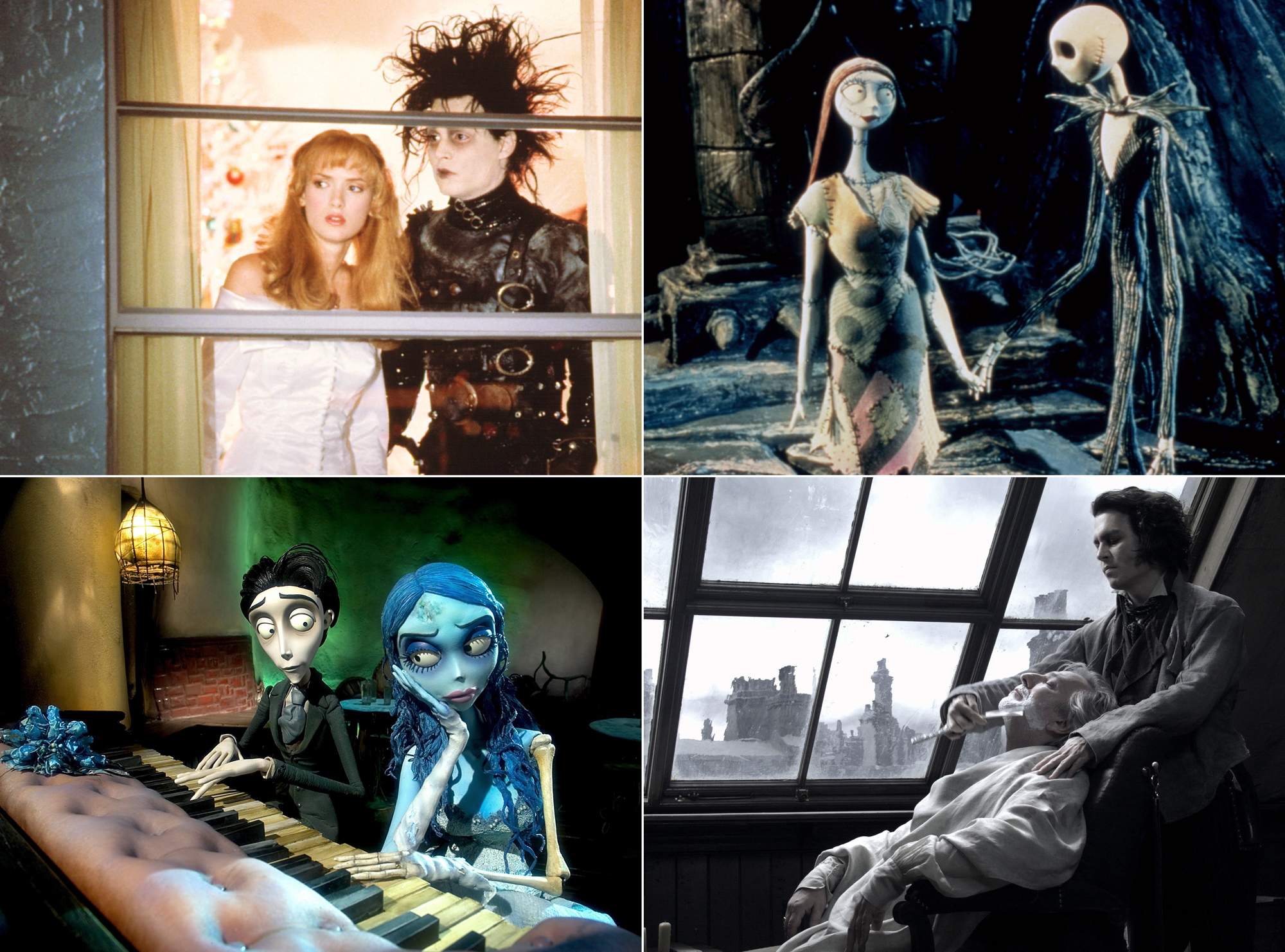 ... Or Have a Tim Burton Marathon