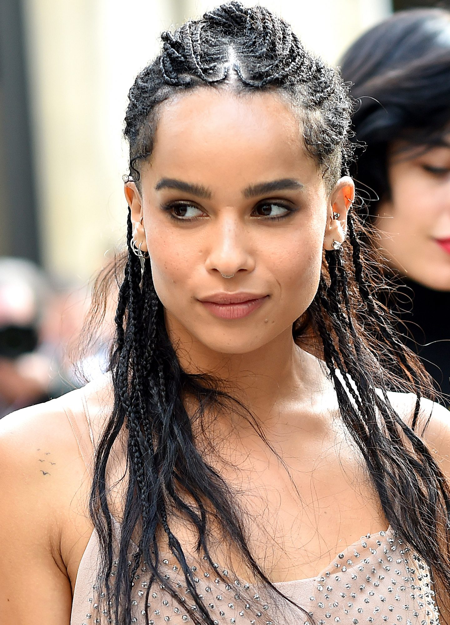 Zoe Kravitz Hair Transformation - LEAD