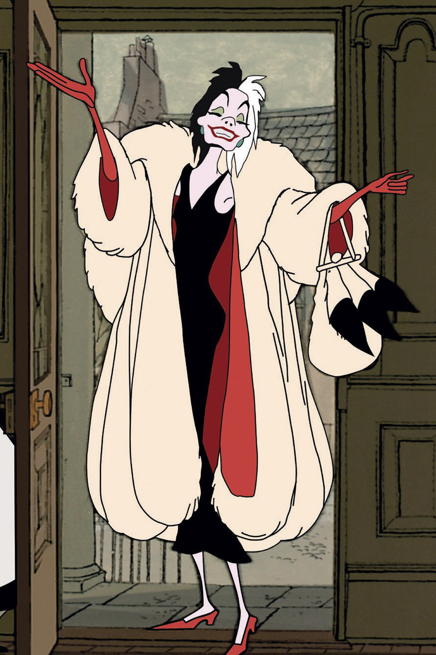 <p>The Streamlined Midi: Cruella de Vil</p>