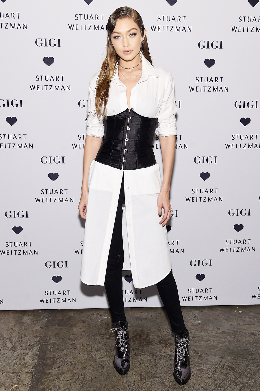 Gigi Hadid Stuart Weitzman Launch Of The Gigi Boot - Embed 2016