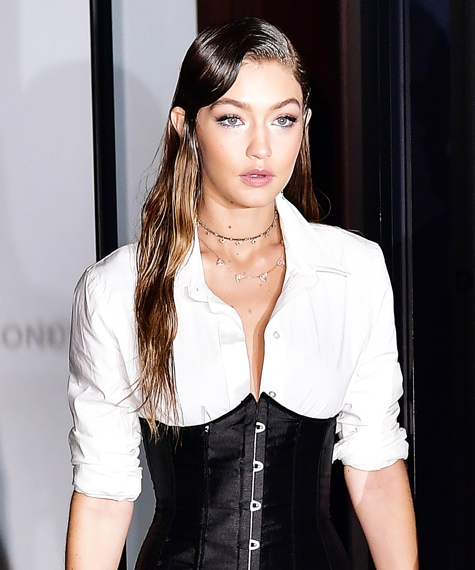 Gigi Hadid Stuart Weitzman Launch Of The Gigi Boot - Lead 2016