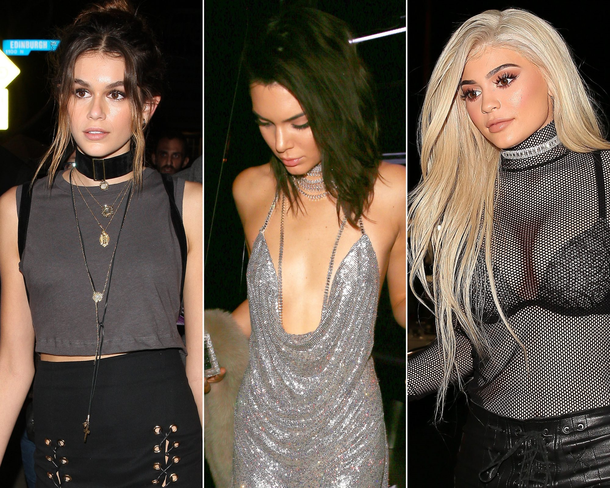 See the Show-Stopping Celebrity Looks from Kendall Jenner's 21st Birthday Party
