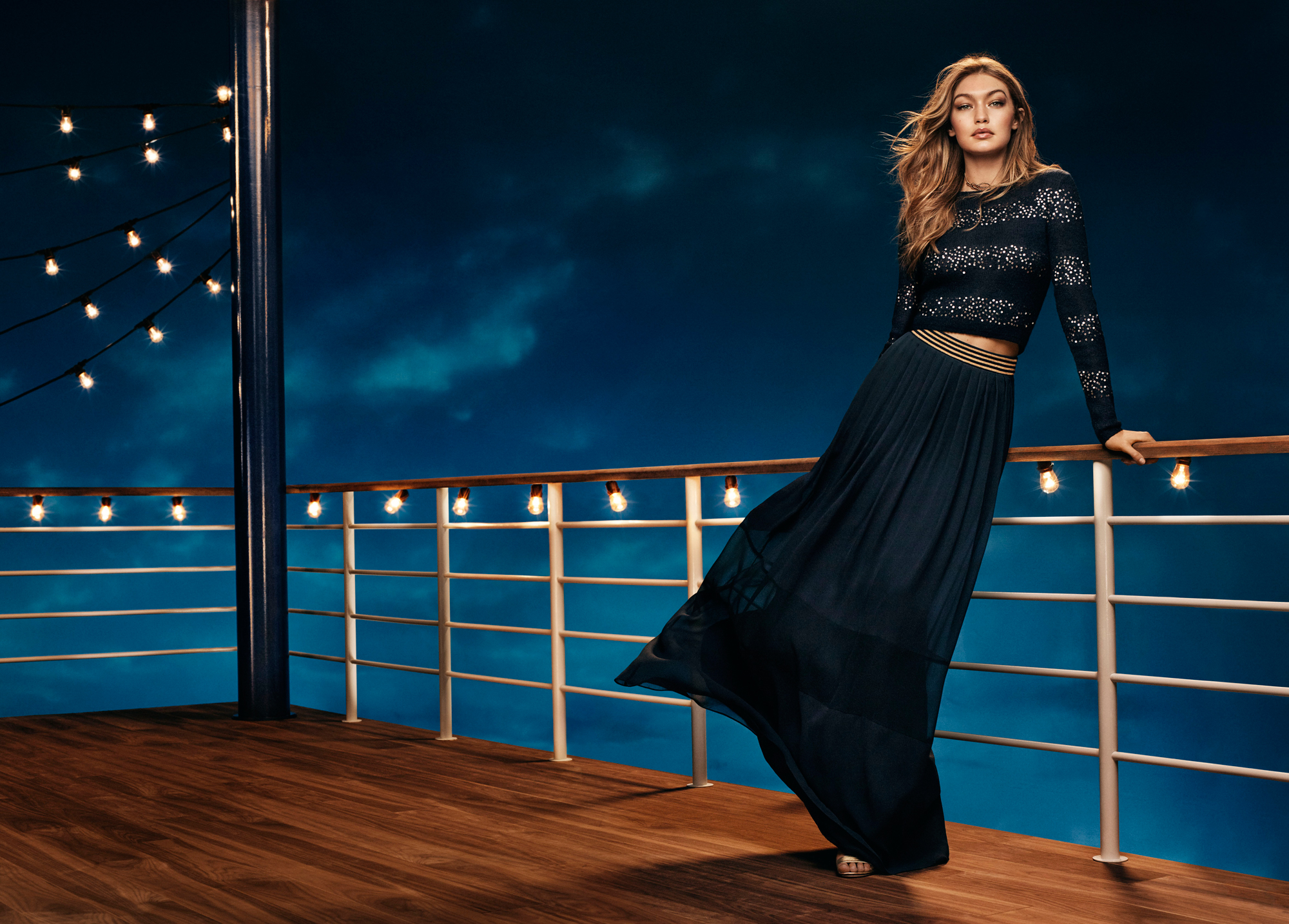 All Aboard Tommy Hilfiger's 2016 Holiday Collection with Gigi Hadid