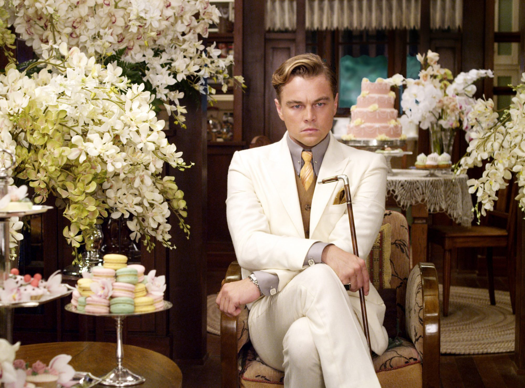 <p>And broke them as Jay Gatsby.</p>