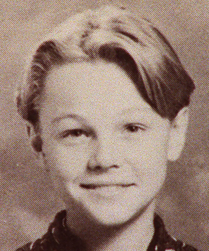He was once an adorable kid himself.