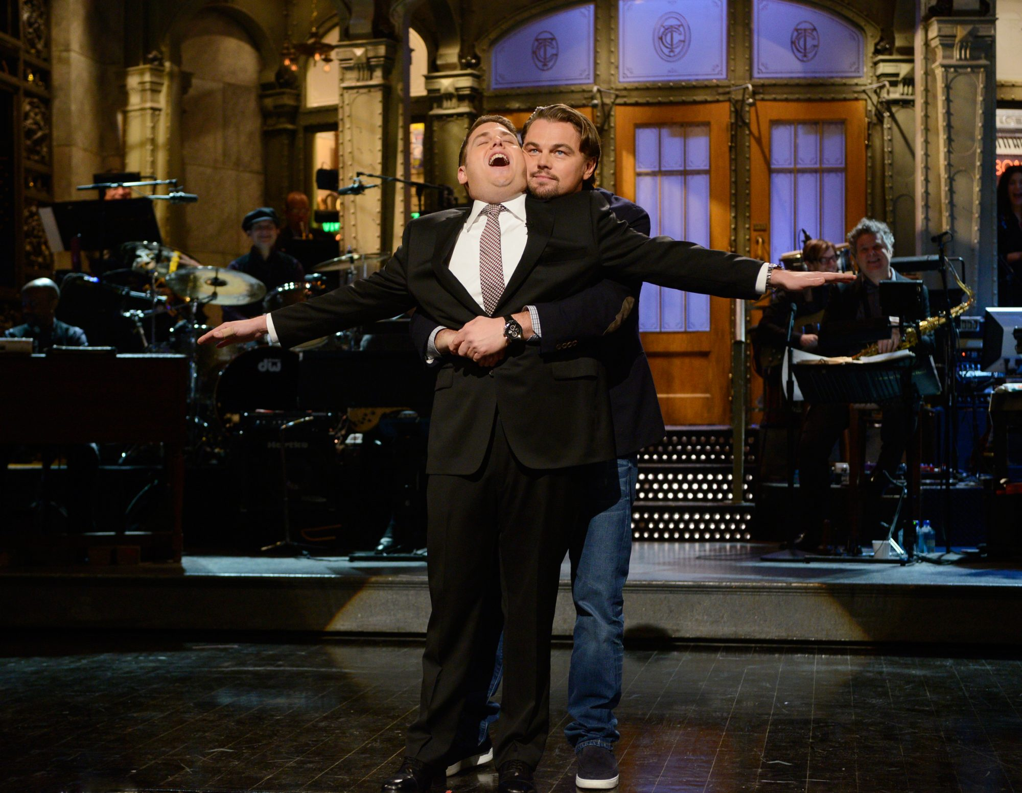 <p>He's a jokester with Jonah Hill.</p>