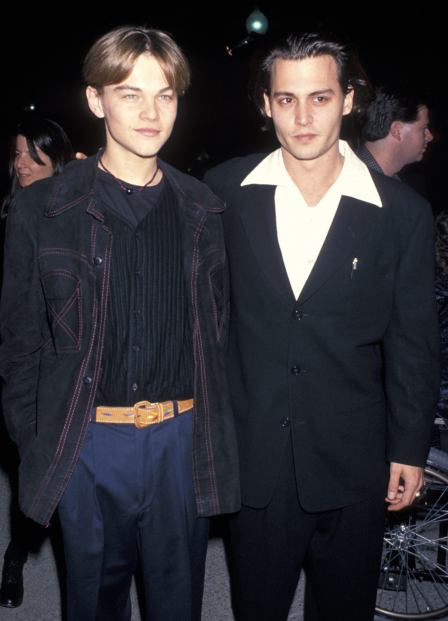 <p>He's chill with Johnny Depp.</p>
