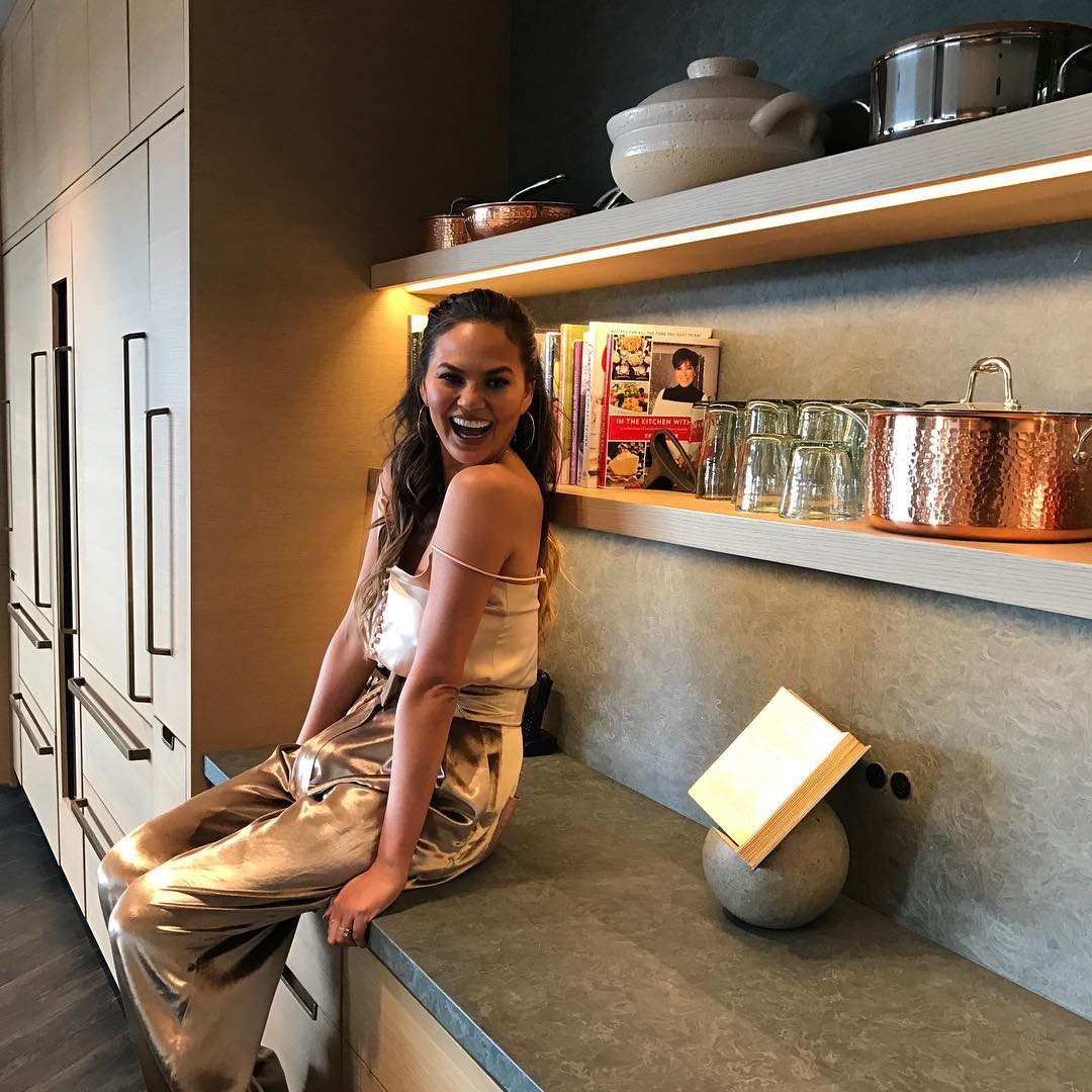 Chrissy Teigen and Baby Luna Host a Baby Shower for Stylist Monica Rose